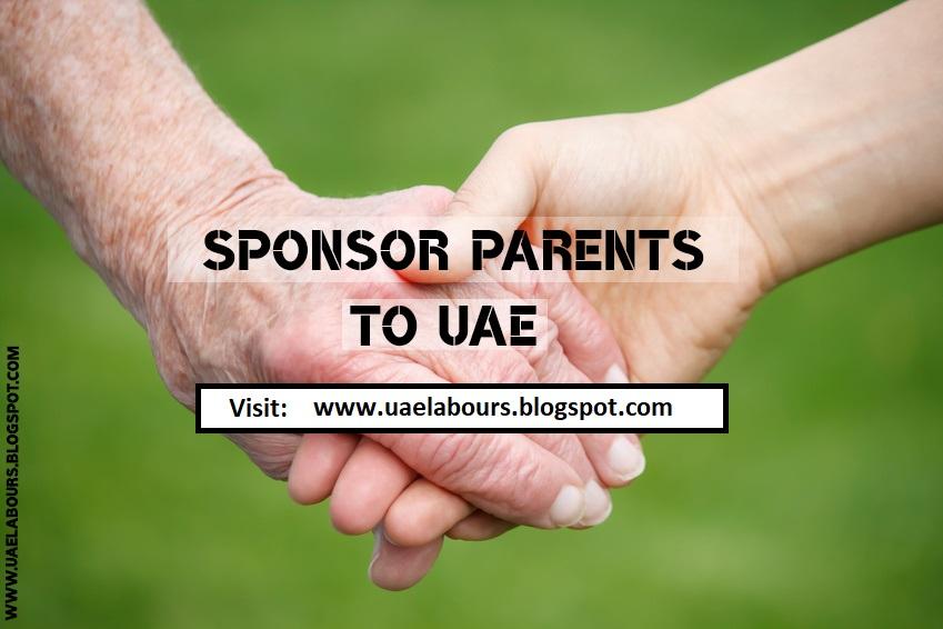 How to sponsor Parents to Dubai