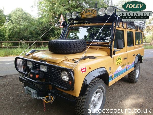 one land rover is never enough..!: camel trophy 110 for sale