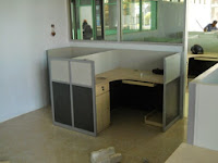 T-Shape Cubicle Workstation 01