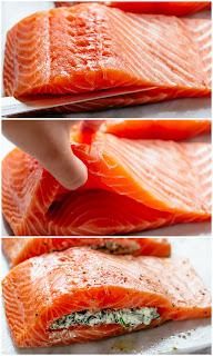 Spinach-Stuffed-Salmon recipes
