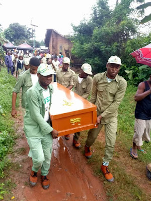 Photos: Pretty Corps member dies two months to completion of her service