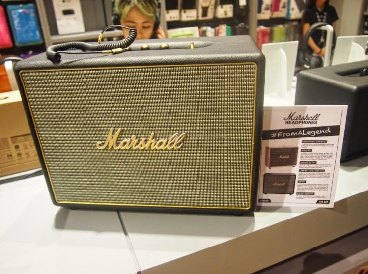 Marshall Introduces New Headphones and Speakers
