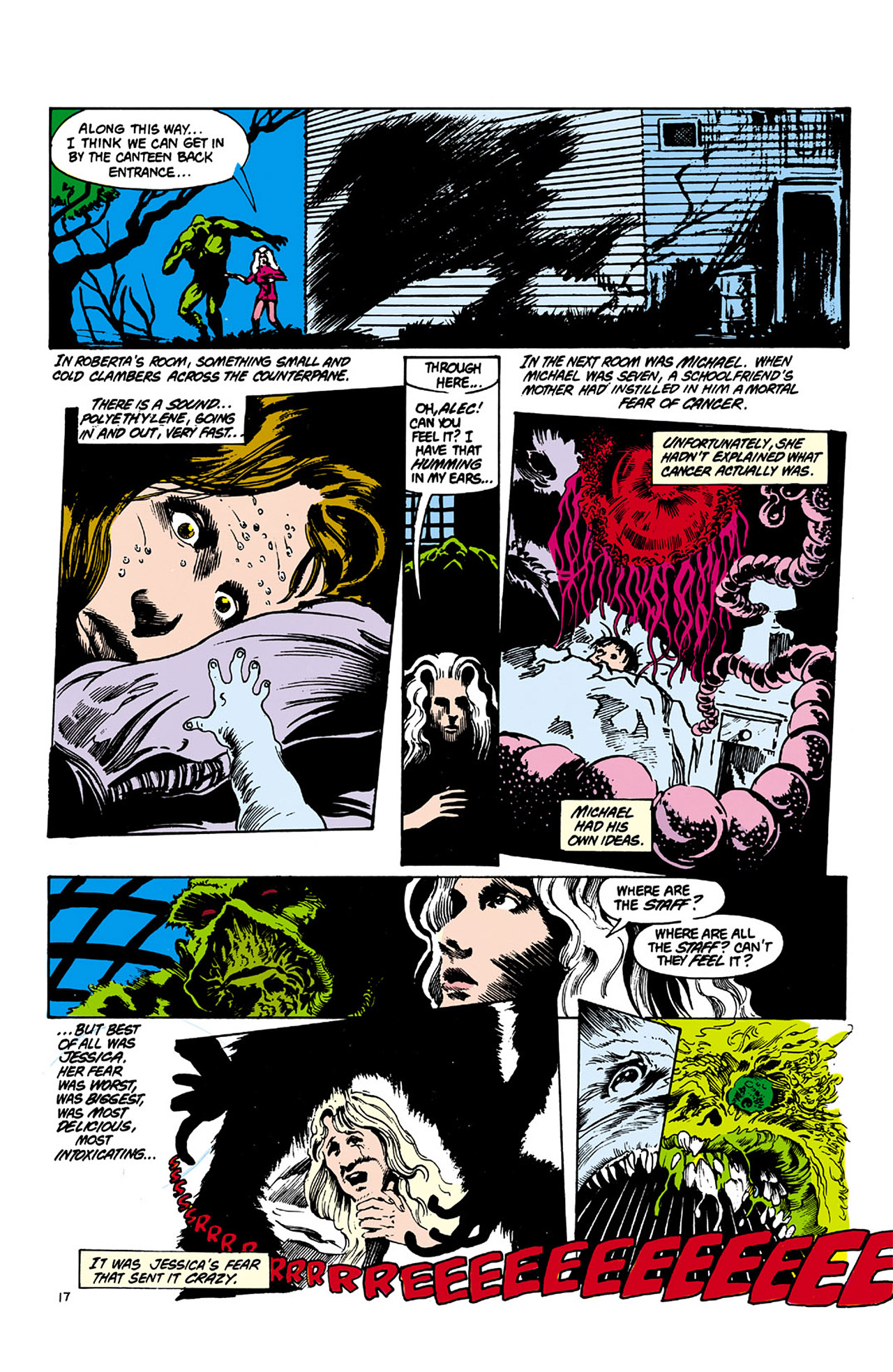 Swamp Thing (1982) Issue #26 #34 - English 17