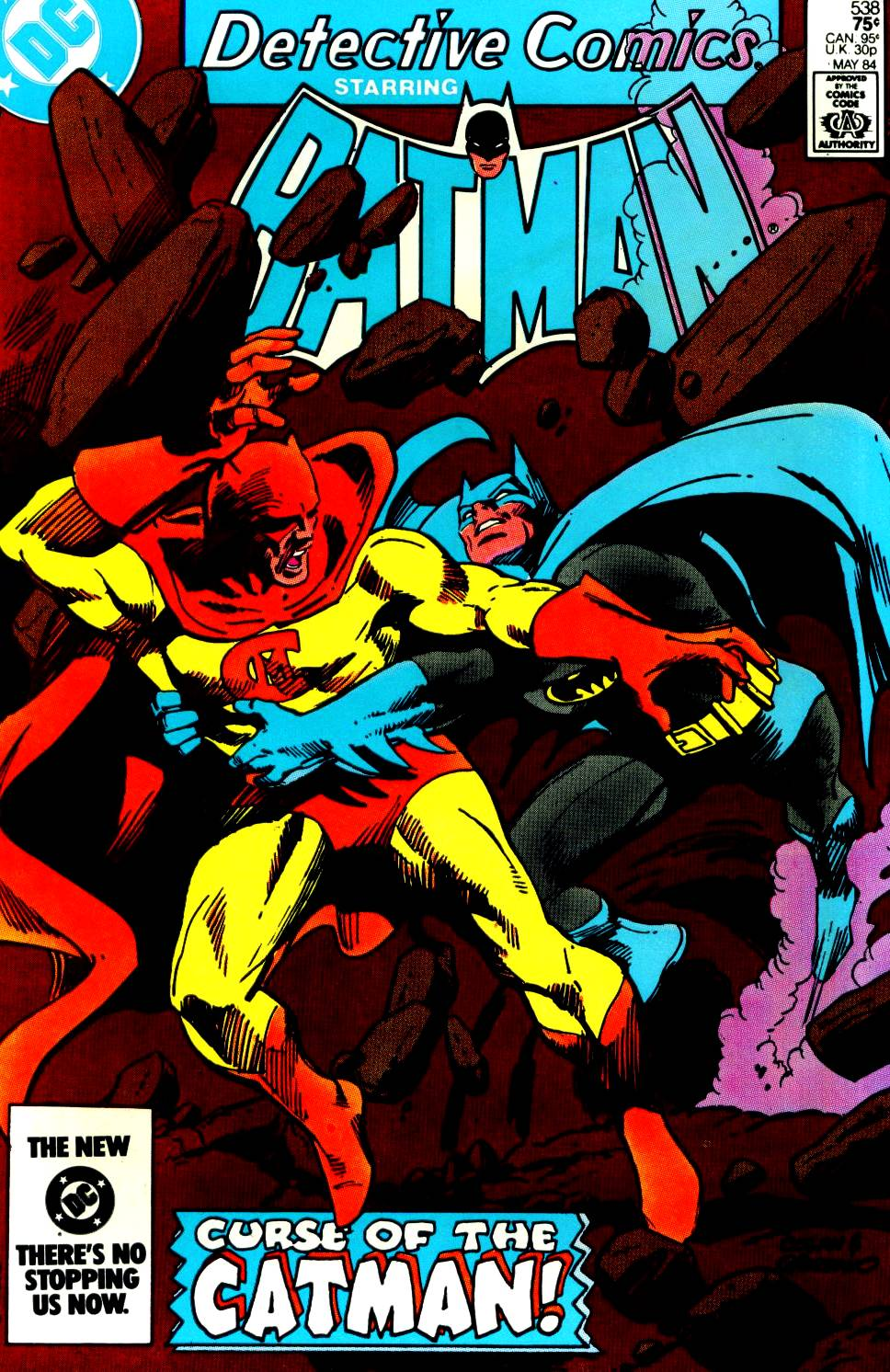 Detective Comics (1937) 538 Page 1