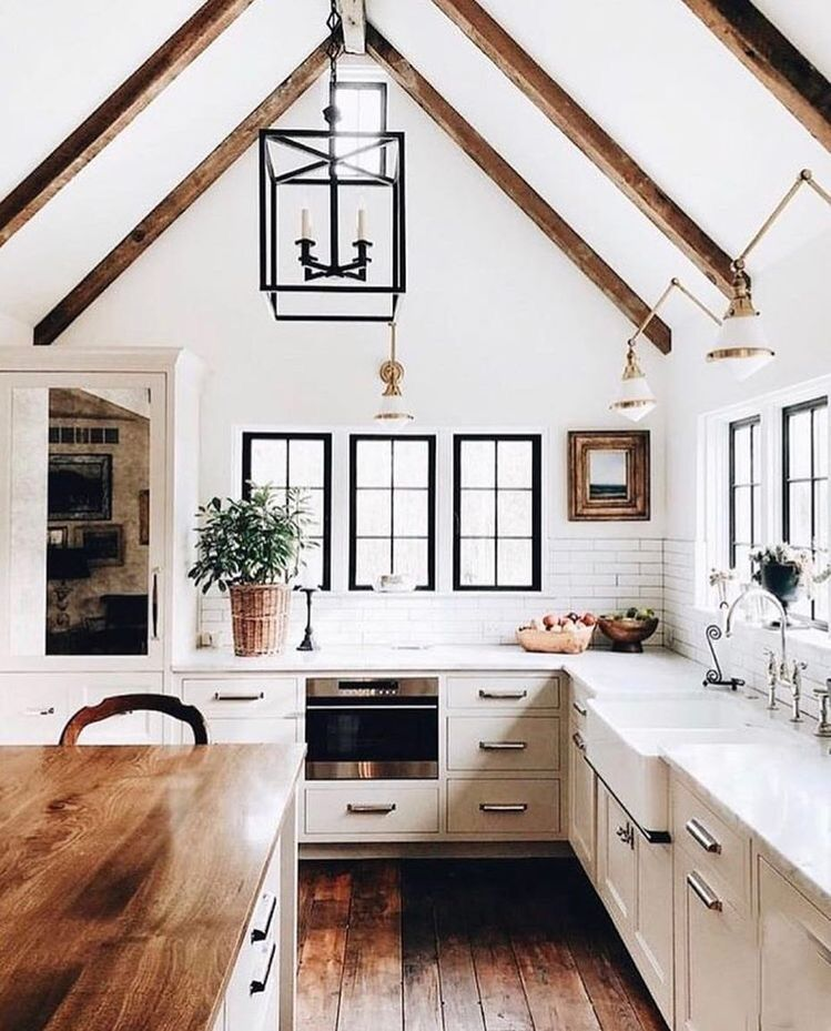 Farmhouse Kitchen Cabinets: My Sweet Savannah: Modern Farmhouse Kitchens