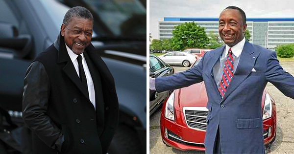 Bob Johnson and Gregory Jackson, Black owners of auto dealerships