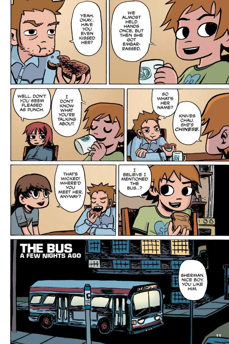 Read online Scott Pilgrim comic -  Issue #1 - 7