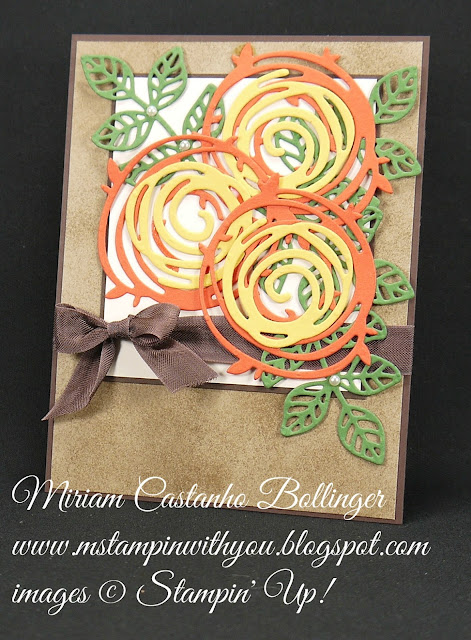 Miriam Castanho-Bollinger, #mstampinwithyou, stampin up, demonstrator, dsc, all occasions card, big shot, swirly scribbles thinlits, flourish thinlits, su