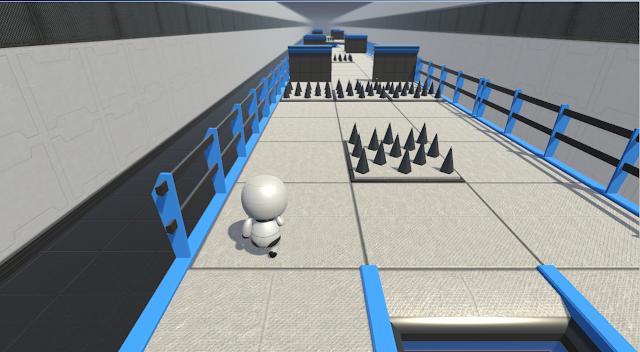 Rintangan game robot