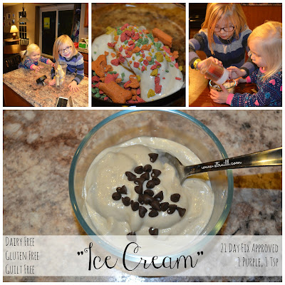 Erin Traill, 21 day fix approved, dairy free ice cream, clean eating ice cream, weight loss success, fit mom, kid friendly clean eating recipe, fit kids, fit family, fit nurse, pittsburgh