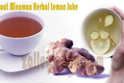 Cara Mengobati Masuk Angin dengan Resep Minuman Herbal Lemon Jahe