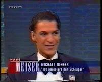 Michael Dierks als Sänger bei Hans Meiser