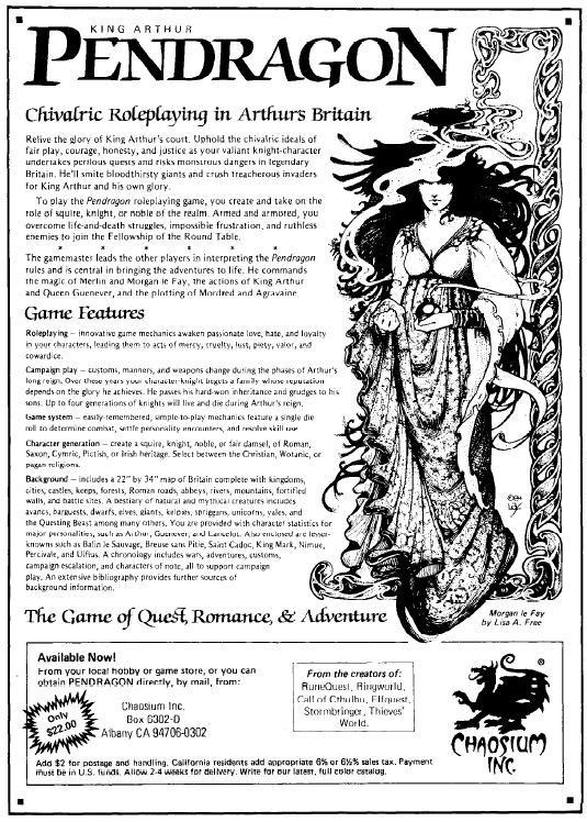 PENDRAGON RPG PDF DOWNLOAD
