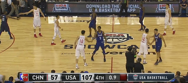 USA vs. China - Second Exhibition Game Full Highlights (VIDEO) July 26