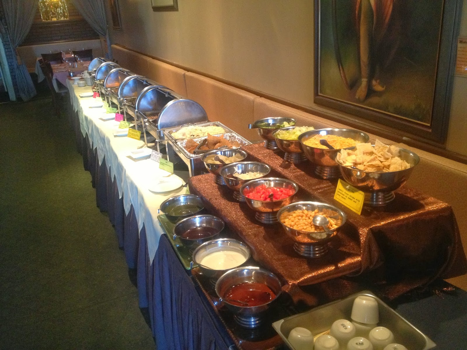 Ay Indian Restaurant 9 95 Lunch Buffet Eht Nj