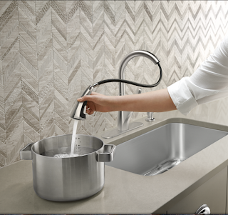 The Trielle Faucet by Kohler at the Home Depot | Denise on a Whim