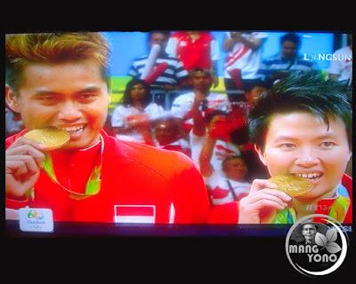 Owi Butet Dari Indonesia Raih Medali Emas Di Cabang Bulu Tangkis Olimpiade Rio 2016