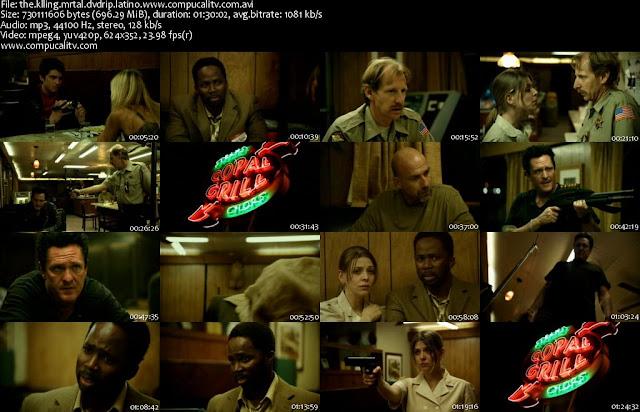 Cena Mortal DVDRip Español Latino Película Acción