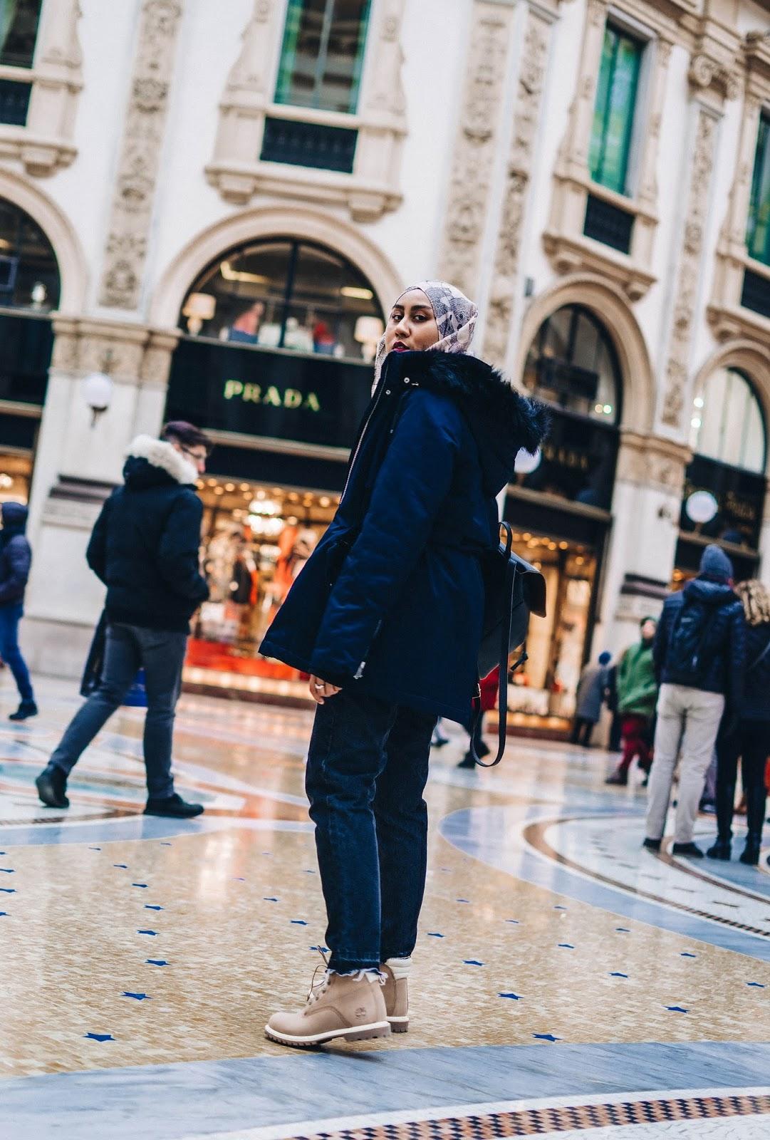 zara navy blue faux fur winter jacket