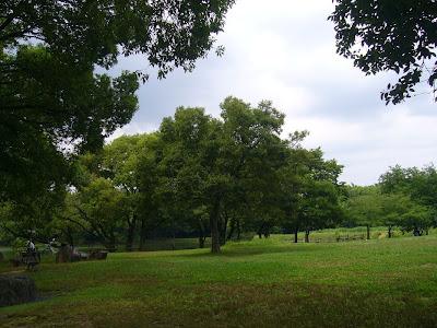 大阪府枚方市・山田池公園の風景
