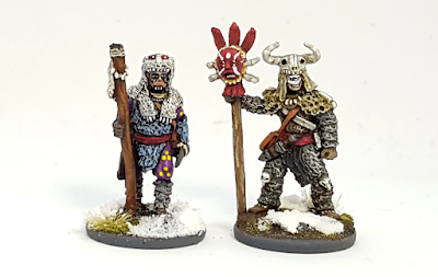 Frostgrave Witch and Apprentice