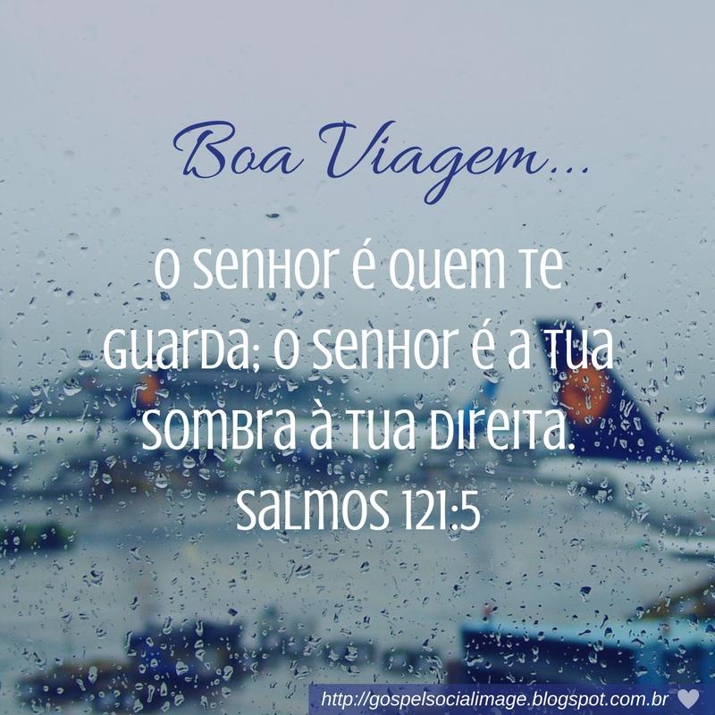 Excepcional Imagem com versículo de boa viagem - Imagens Bíblicas (̶◉͛‿◉̶) DT91