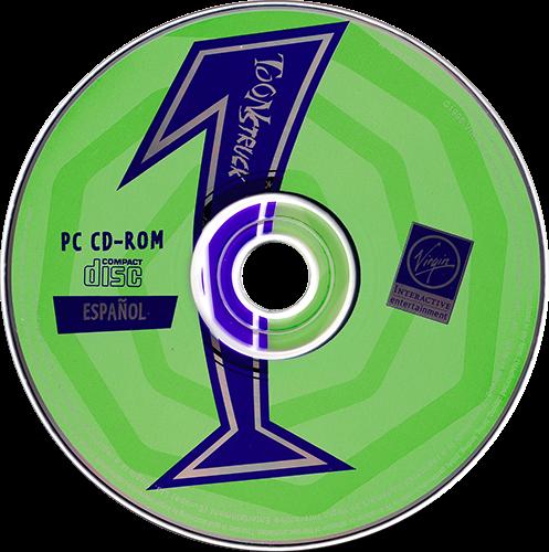 Toonstruck PC CD 1