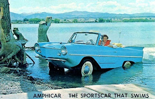 Amphibious Car 1961 The Amphicar