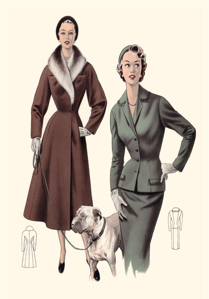 1001 Fashion Trends 1950 Fashion Style