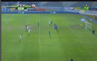 رباعية بيضاء يقدمها لاعبو الزمالك أمام مصر المقاصة اليوم 29-01-2019 الدوري المصري