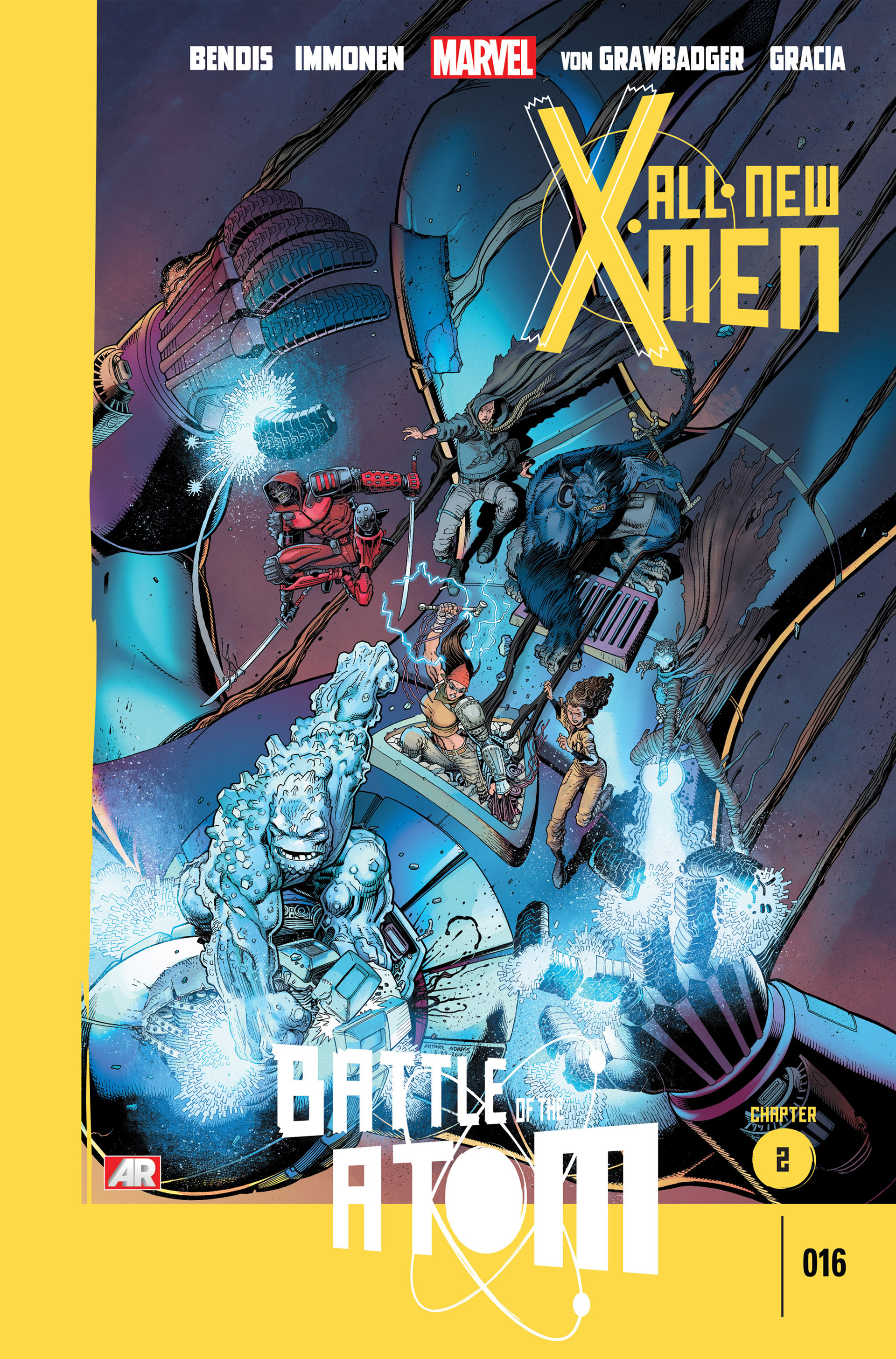 Read online All-New X-Men (2013) comic -  Issue #16 - 1