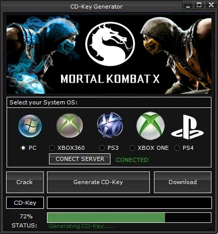 mortal kombat x pc license key