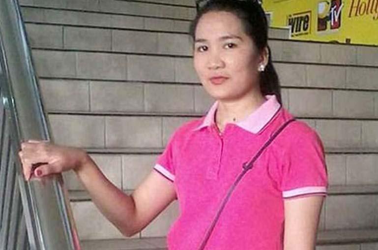 Joanna Demafelis TKW yang dibunuh majikannya dan mayatnya disimpan di lemari es selama setahun.