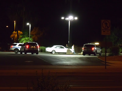 Scottsdale Police On Scene at Circle K