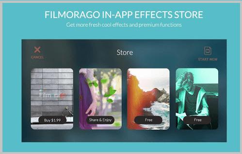 फिलमोरा विडियो संपादन उपकरण : FilmoraGo 2.2.2 Apk