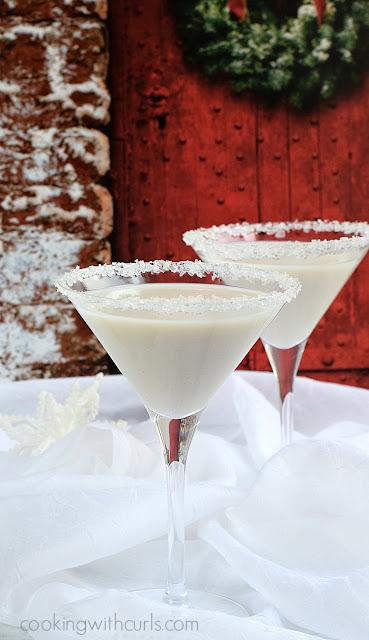 Snowflake Martini Recipe