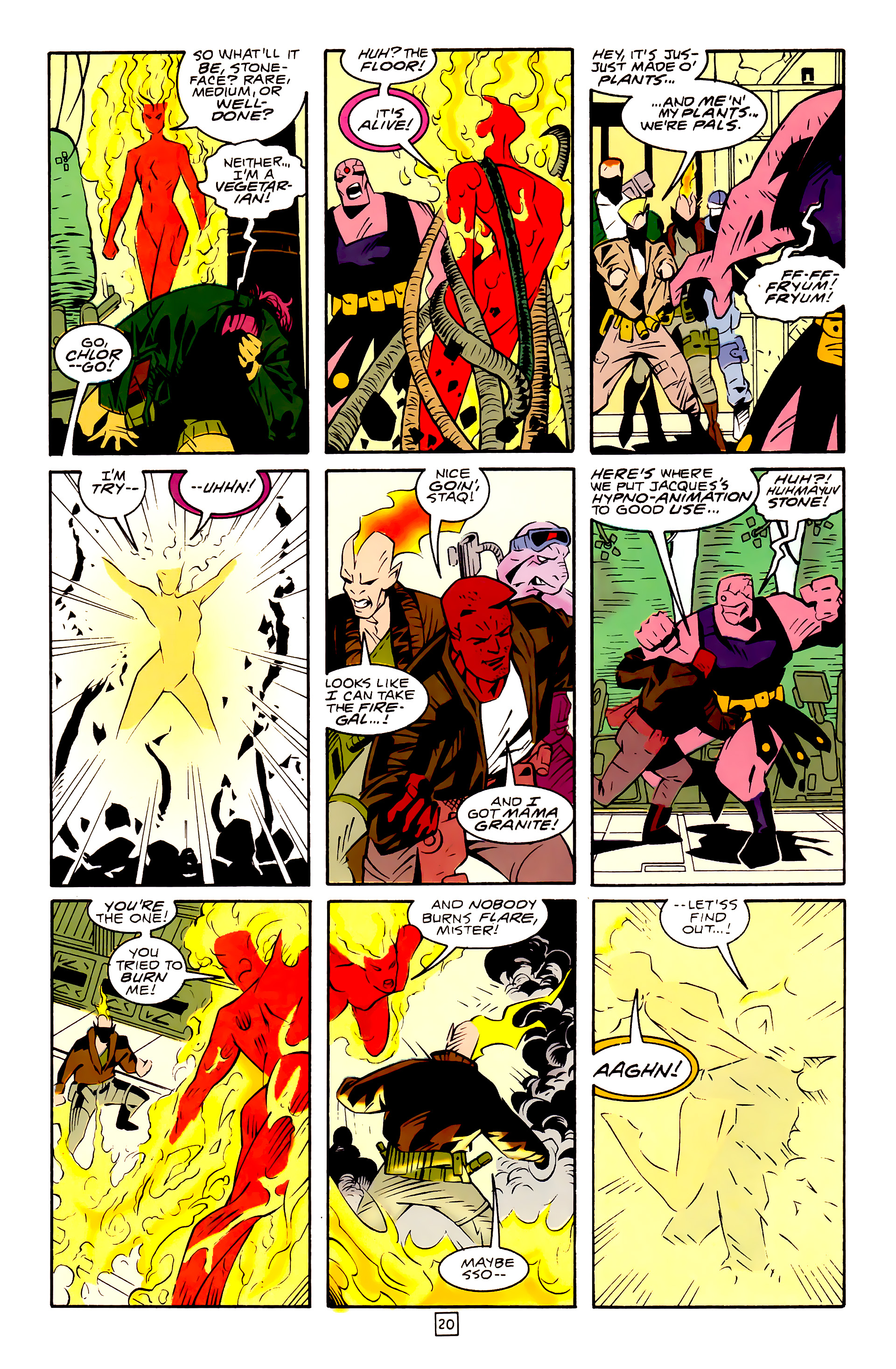 Legion of Super-Heroes (1989) 30 Page 20