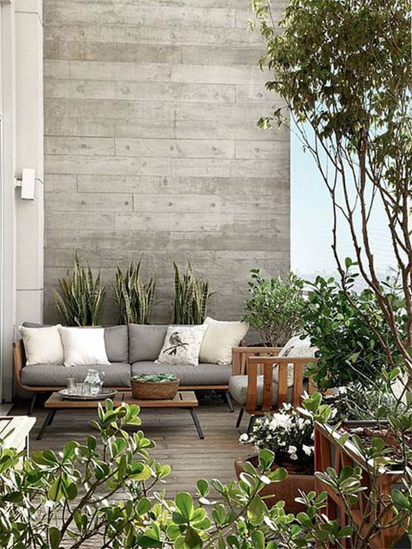 7 Ideas For Decorating Balconies or Terraces 11