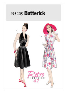 WWII Dress Sewing Pattern B5209