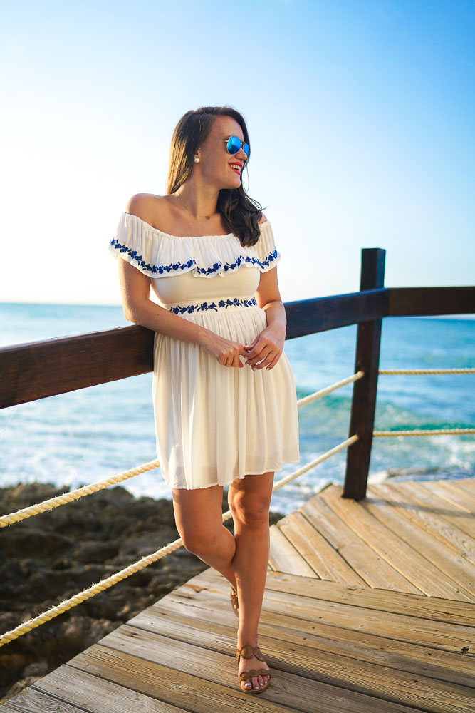 62c39268a7 The Jetset Diaries Pompeii Ruffle Dress | Covering the Bases ...