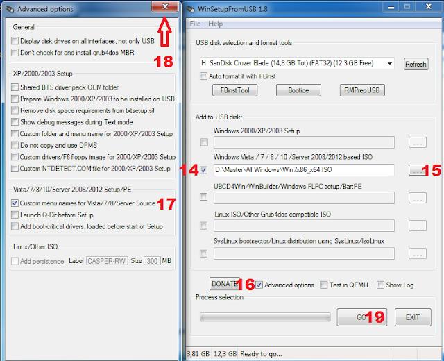 Cara membuat multi bootable usb windows tahap 6