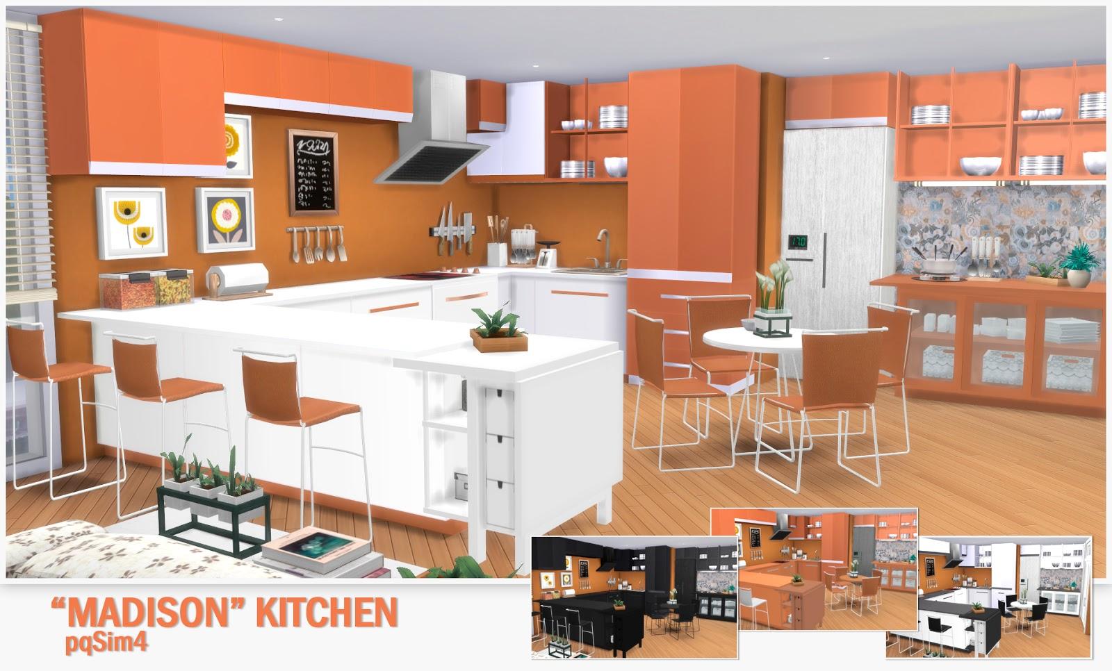 Kitchen Madison Sims 4 Custom Content