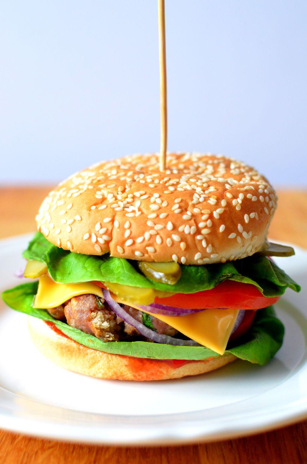 hamburger Hamburger doskonały wg Jamiego