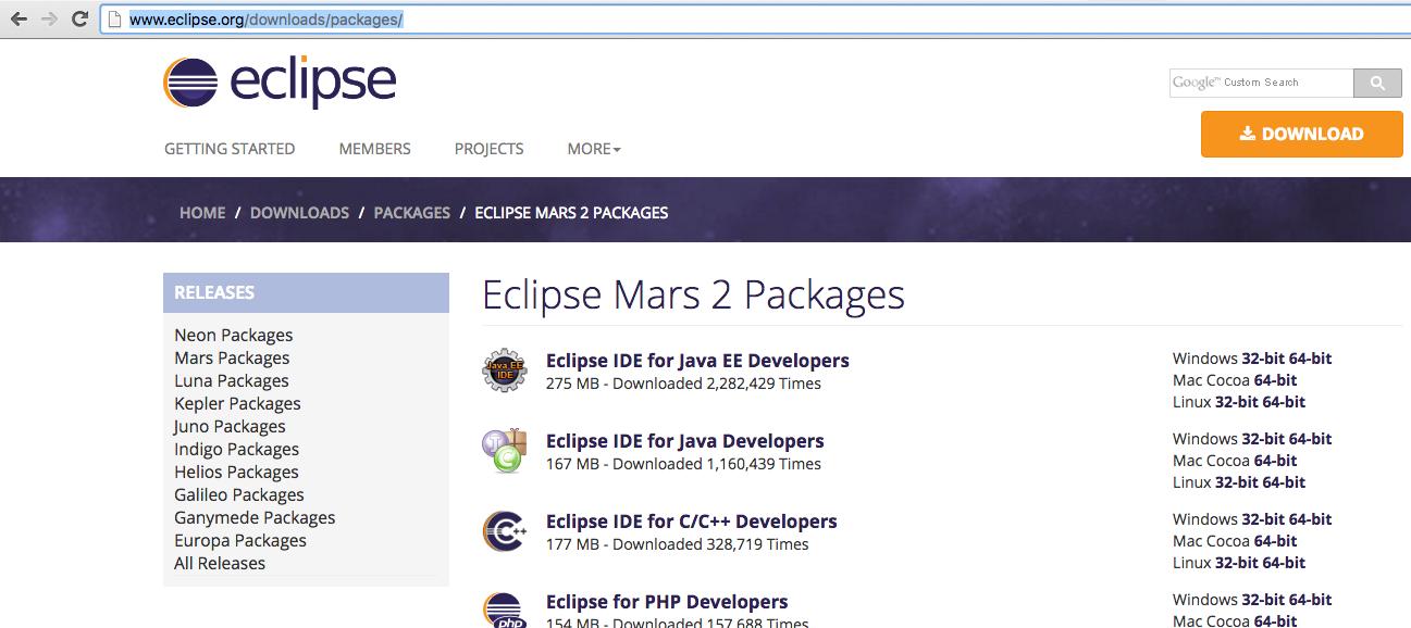 How to SetUp Eclipse on Mac machine to run Java Programs
