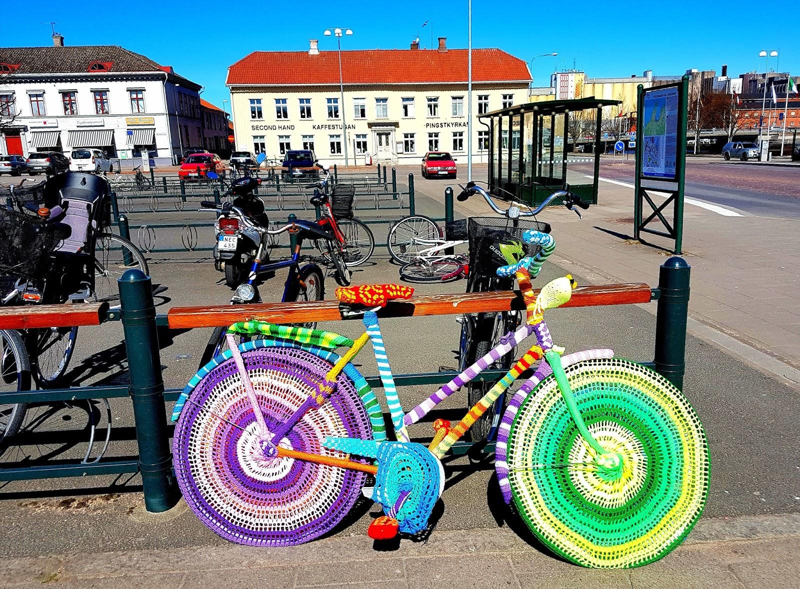 GeddFish ♥: Stickade cyklar