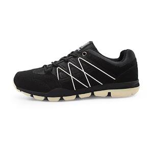 Ardiles Men Blissey Sepatu Sneakers - Hitam