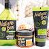 Nature Box, szampon, masło do ciała oraz scrub do ciała