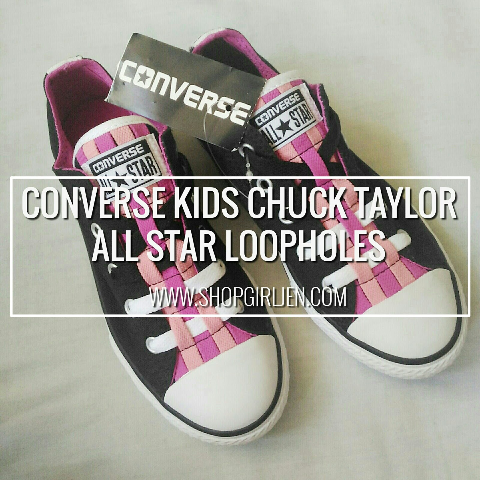 11079cfe9c0e Shopgirl Jen  CONVERSE UNVEILS KIDS CHUCK TAYLOR ALL STAR LOOPHOLE  COLLECTION