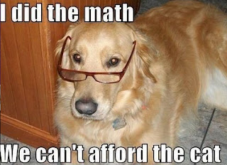 Funny Dog Humor : I Did The Math
