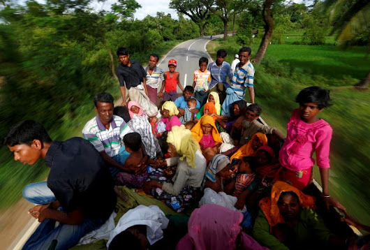 Rohingya exodus to Bangladesh nears 300,000 : United Nations